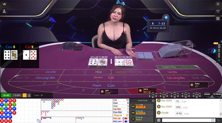 baccarat ku casino